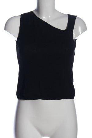 Zara Woman Camisole schwarz Casual-Look