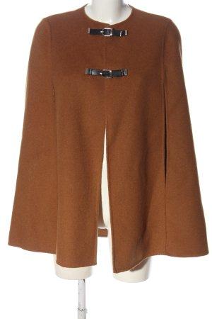 Zara Woman Mantella marrone elegante