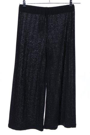 Zara Woman Caprihose schwarz Casual-Look
