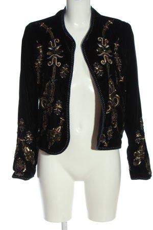 Zara Woman Kardigan czarny Elegancki