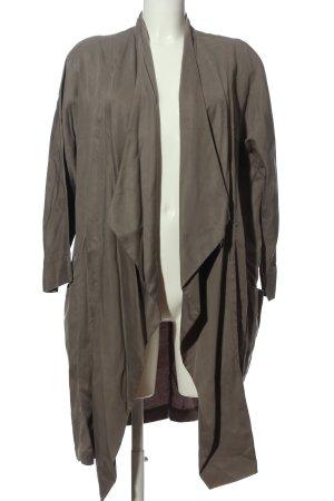 Zara Woman Cardigan hellgrau Casual-Look