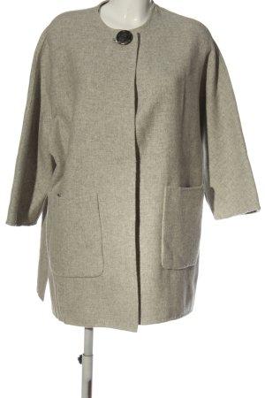 Zara Woman Kardigan jasnoszary W stylu casual