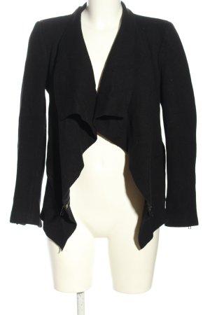 Zara Woman Cardigan schwarz Casual-Look