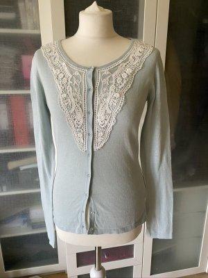 Zara Woman Cardigan mit Spitze Gr. S