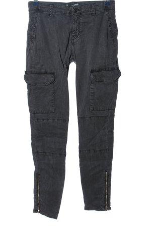 Zara Woman Cargo Pants black casual look