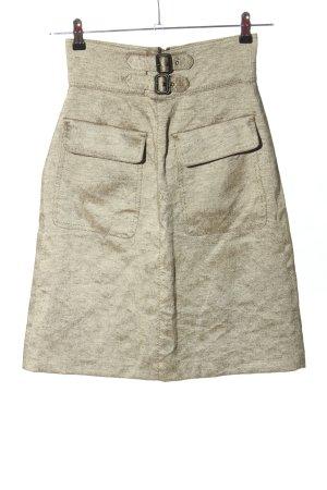 Zara Woman Falda estilo cargo gris claro look casual