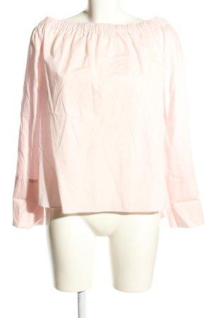 Zara Woman Carmen-Bluse pink Casual-Look