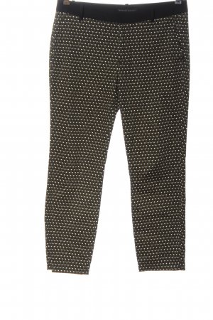 Zara Woman Chinohose Allover-Druck Casual-Look
