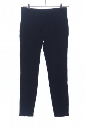 Zara Woman Chinohose blau Casual-Look