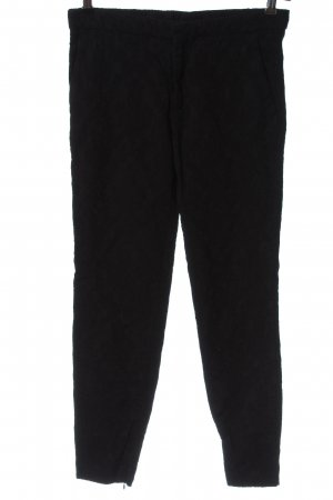Zara Woman Pantalon chinos noir style décontracté