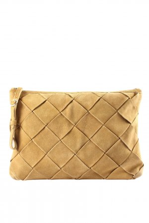 Zara Woman Clutch blassgelb Elegant