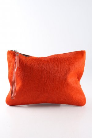 Zara Woman Clutch rot extravaganter Stil