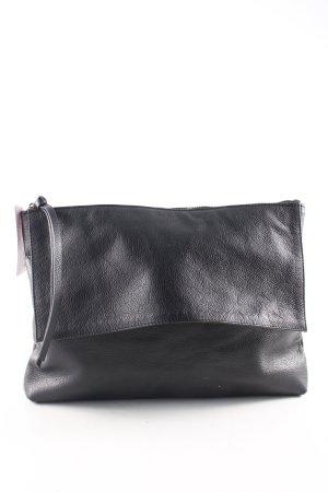 Zara Woman Bolso de mano negro look casual