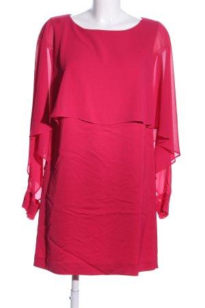 Zara Woman Cocktailkleid rot Elegant