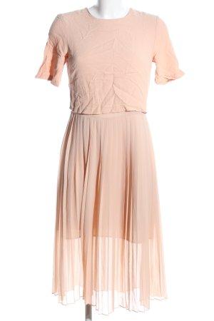Zara Woman Cocktailkleid nude Elegant