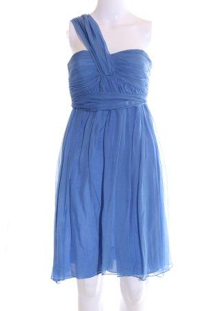 Zara Woman Cocktailkleid blau Elegant