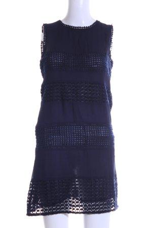 Zara Woman Cocktailkleid blau Casual-Look