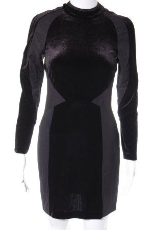 Zara Woman Cocktailkleid schwarz Party-Look