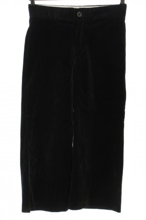 Zara Woman Cordhose schwarz Casual-Look