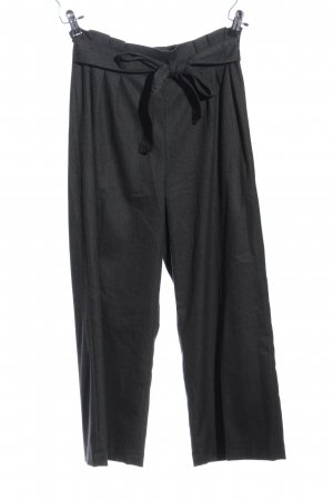 Zara Woman Culottes hellgrau meliert Business-Look