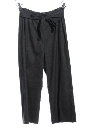 Zara Woman Falda pantalón de pernera ancha gris claro moteado