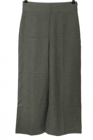 Zara Woman Culottes hellgrau Business-Look