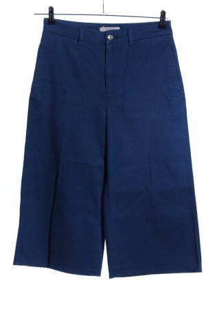 Zara Woman Pantalone culotte blu stile casual