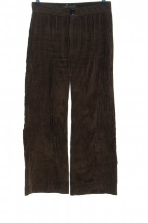 Zara Woman Pantalone culotte marrone stile casual