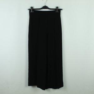 ZARA WOMAN Culottes Gr. S schwarz weites Bein (20/10/400*)