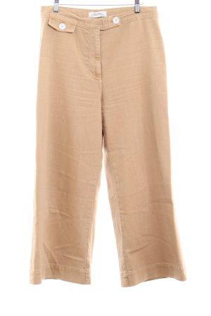 Zara Woman Culottes nude Hippie-Look