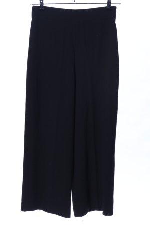 Zara Woman Pantalone culotte nero stile casual