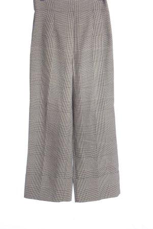 Zara Woman Culottes schwarz-weiß Karomuster Casual-Look