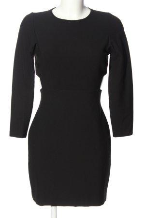 Zara Woman Sukienka z wycięciem czarny Elegancki