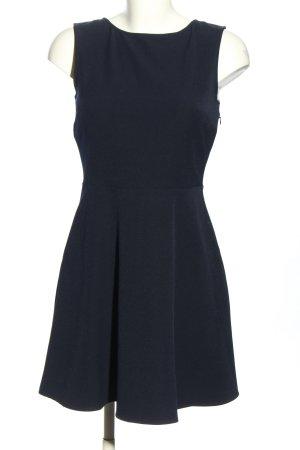 Zara Woman Cut-Out-Kleid blau Casual-Look