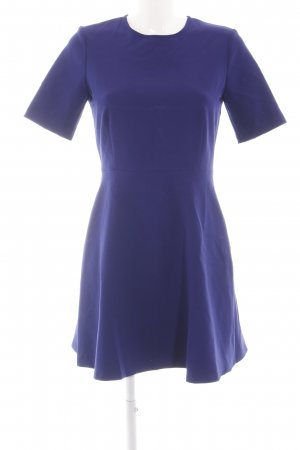 Zara Woman Cut-Out-Kleid blau Casual-Look