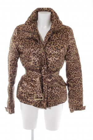 Zara Woman Daunenjacke Animalmuster Casual-Look