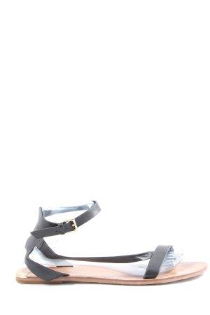 Zara Woman Dianette sandalen zwart casual uitstraling