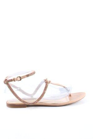 Zara Woman Dianette Sandals cream casual look