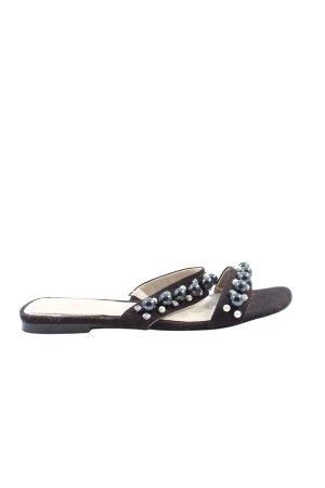 Zara Woman Dianette-Sandalen schwarz Casual-Look