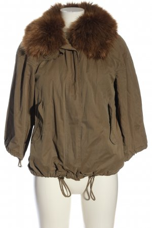 Zara Woman Double Jacket brown casual look