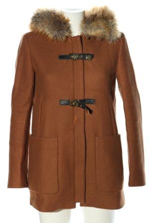 Zara Woman Prochowiec brązowy W stylu casual