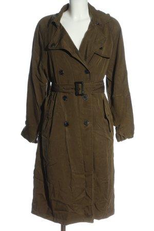 Zara Woman Duffle-coat bronze style décontracté