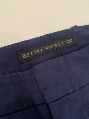 Zara Woman dunkle blaue Hose
