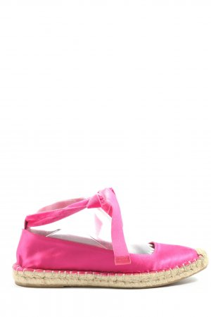 Zara Woman Espadrillas rosa stile casual