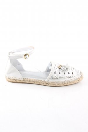 Zara Woman Espadryle biały W stylu casual
