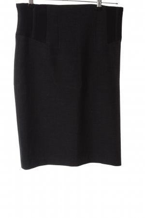 Zara Woman Bleistiftrock schwarz Business-Look