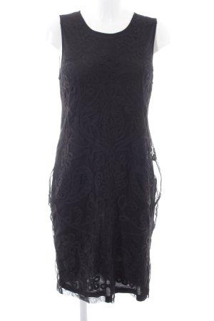 Zara Woman Etuikleid schwarz Elegant