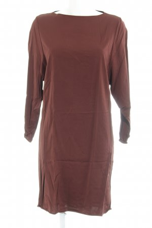 Zara Woman Etuikleid braunrot Elegant