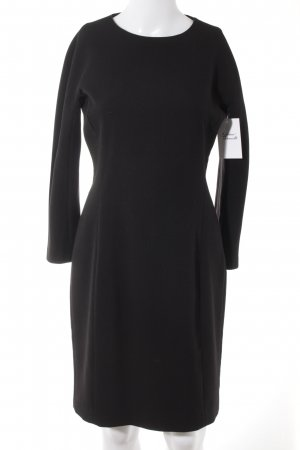 Zara Woman Etuikleid schwarz Casual-Look