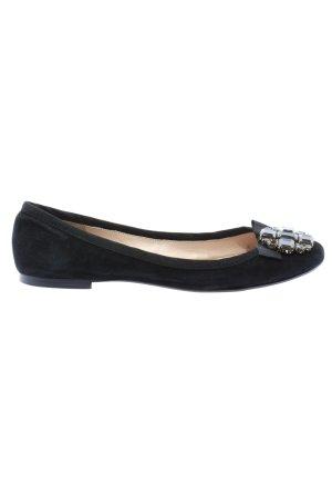 Zara Woman Foldable Ballet Flats black casual look